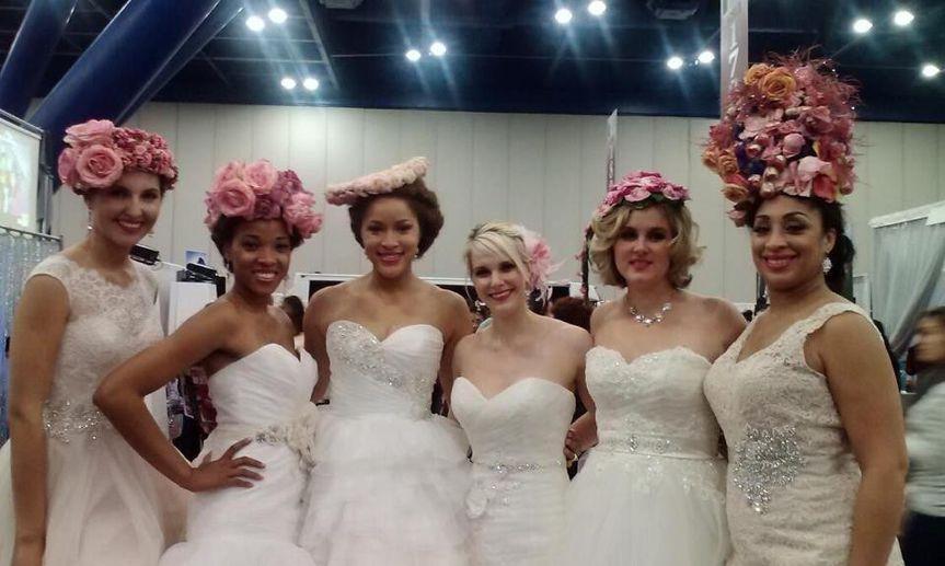 Bridal gown models