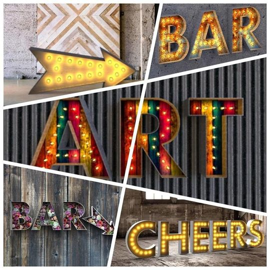 EVENTLUXE Channel Letters *more options available.  Call us or email us!
