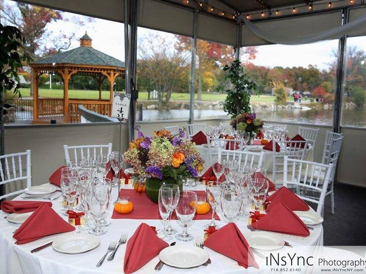 Tmx 1463246716636 Set Up In Patio 3 Staten Island, NY wedding venue