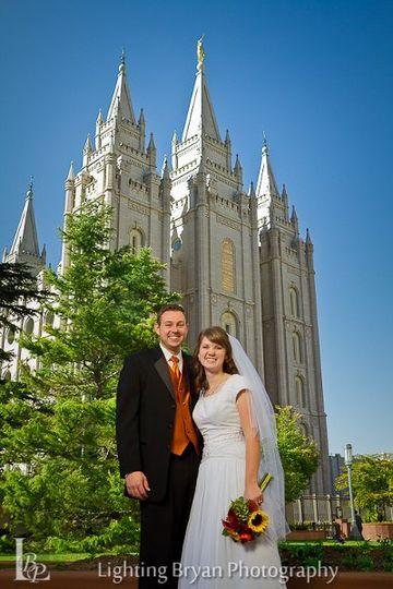 Professional Utah Wedding Photography, Serving Ogden - Salt Lake City. Temple and wedding day photos