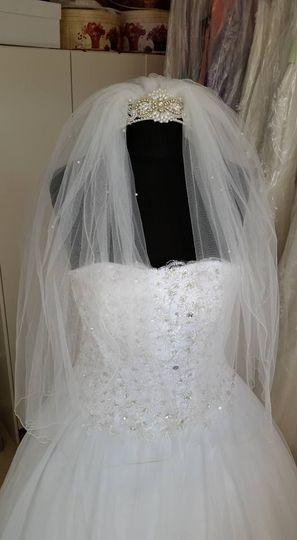refurbished wedding veil 4