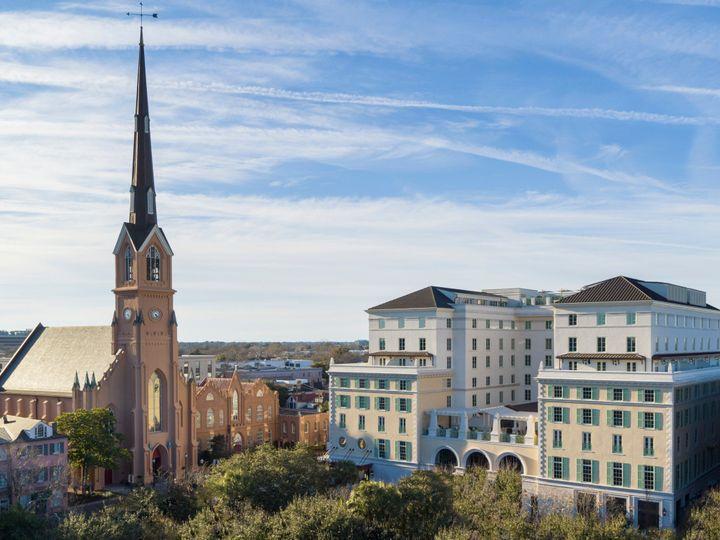 Tmx Hotel Bennett Exterior Aerial 2 51 970166 1557762902 Charleston, SC wedding venue