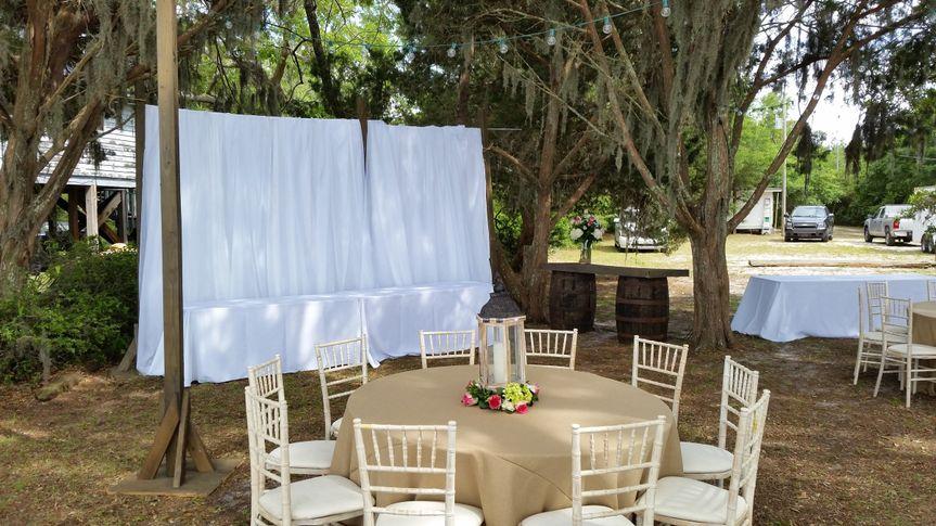 draping backdrop
