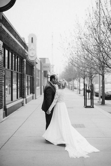 Downtown OKC wedding