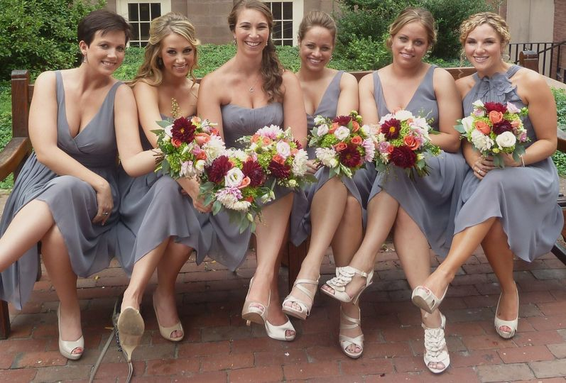 All the bridesmaid