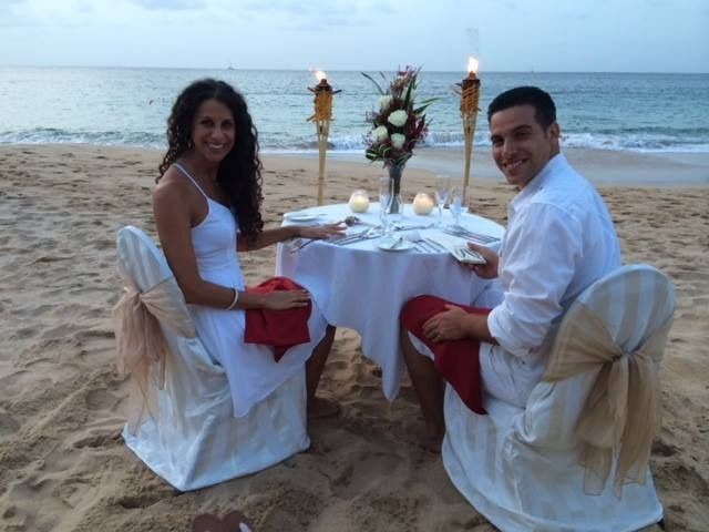Candlelight Honeymoon Dinner