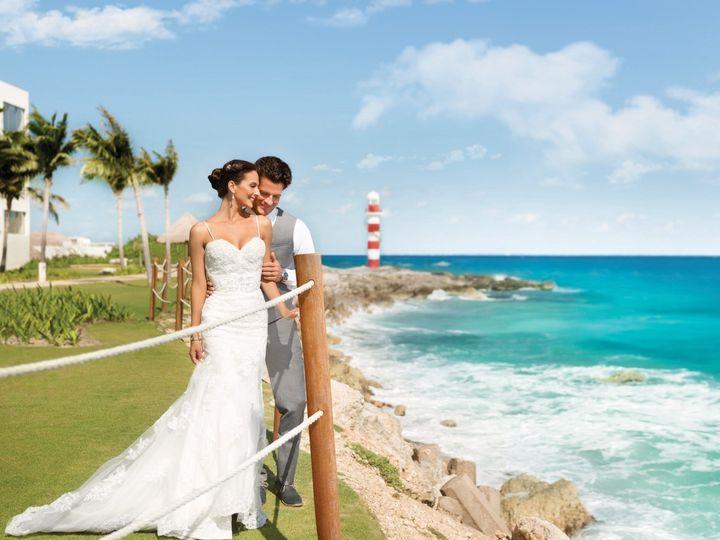 Tmx Hyatt Ziva Cancun Wedding Couple Romantic 12 51 407166 1563392460 Greenwich, CT wedding travel