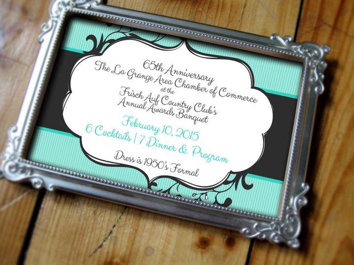 Tmx 1419636515395 Annualawardsbanquet Invite Eagle Bend wedding invitation