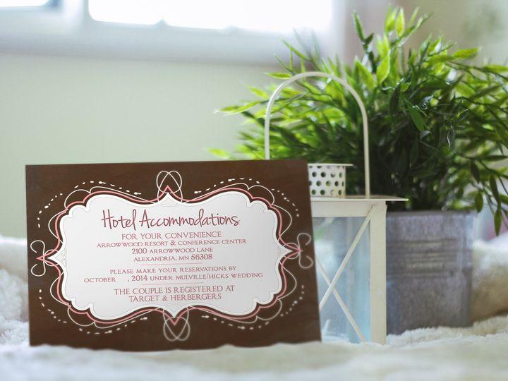 Tmx 1419637692371 Kminvite Ha Eagle Bend wedding invitation