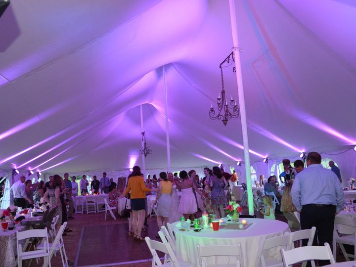 Tmx 1443620127868 Danville Tent With Pink Williamstown, VT wedding dj