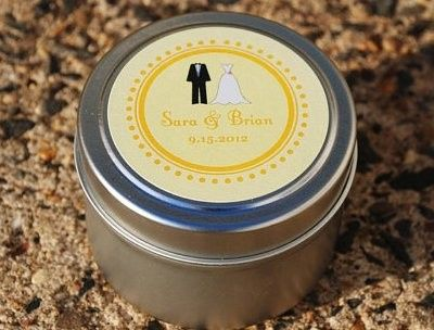Tmx 1370977361462 Custom Event Travel Tin Soy Candle Favors2 Lansdale wedding favor