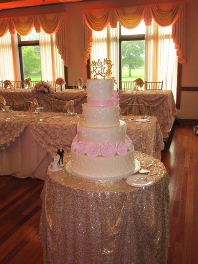 4 layer cake