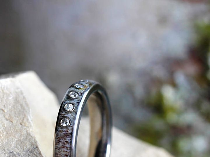 Tmx 1501099037966 E2 Antler Engagement Art 4 Cropped Saint Paul, Minnesota wedding jewelry