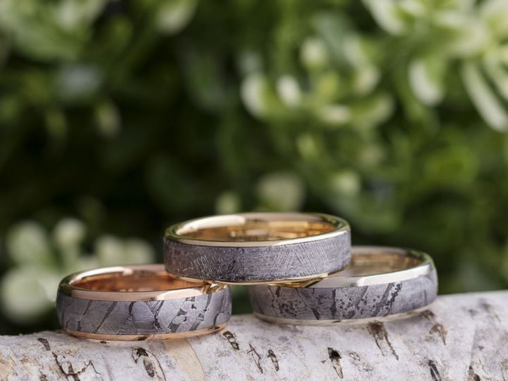 Tmx 1534273771 5ea16d20dded0ee3 1534273770 Fce78e946501c64e 1534273768465 8 E Gold Meteorite G Saint Paul, Minnesota wedding jewelry