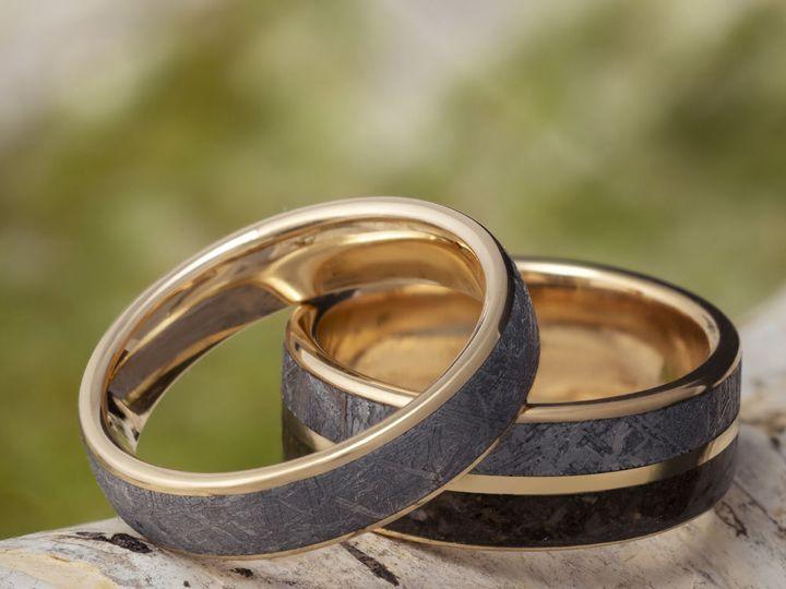 Tmx 1534273772 71a8595eef92b1b1 1534273770 7ee7f5cdf9717588 1534273768466 9 E Meteorite Gold G Saint Paul, Minnesota wedding jewelry