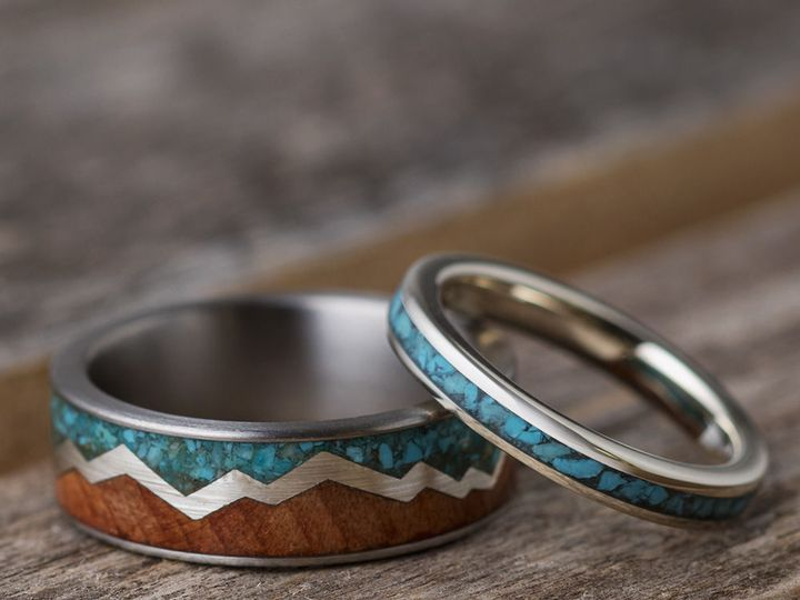 Tmx 1538509363 1f9975bae3c07028 1538509362 4d028eca2f115527 1538509362312 2 Turquoise Ring Gro Saint Paul, Minnesota wedding jewelry