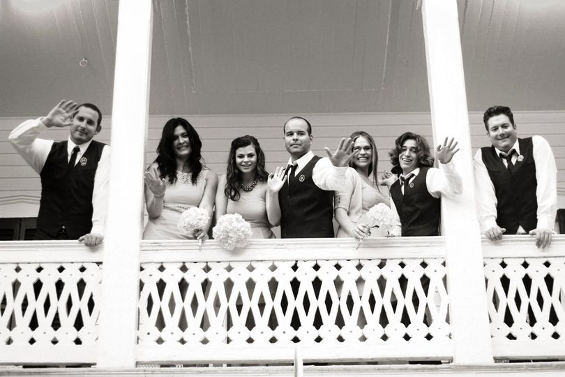 Key West Wedding Party. Photo by Barca Designs.
