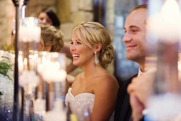 Smiles during the reception