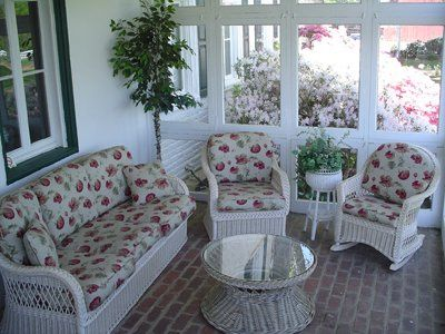 Front porch for relaxing.