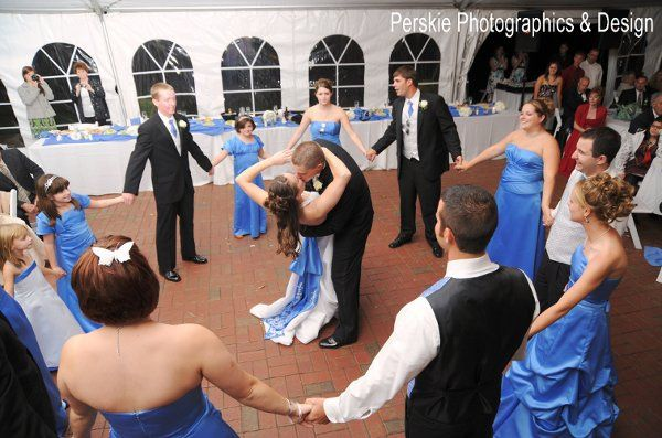 Dancing under the tent.  Photo by Perskie Photographic & Design