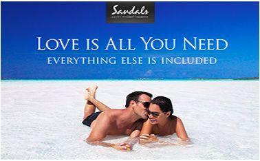 Sandals a great Honeymoon destination!
