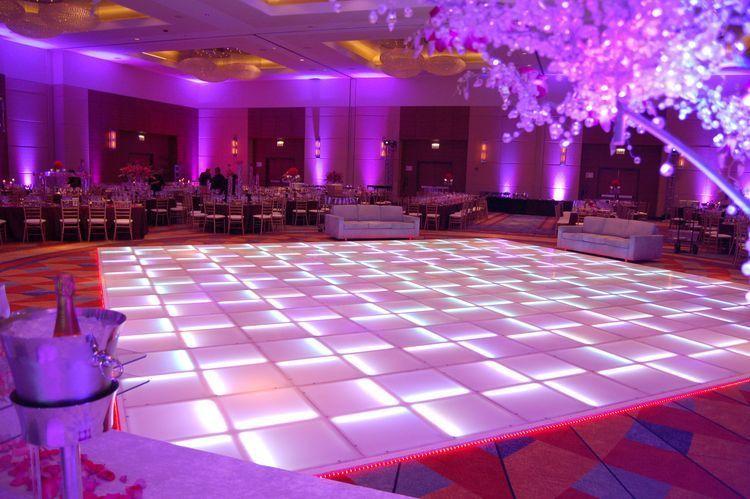 LED Dance Floor & Up-Lighting
