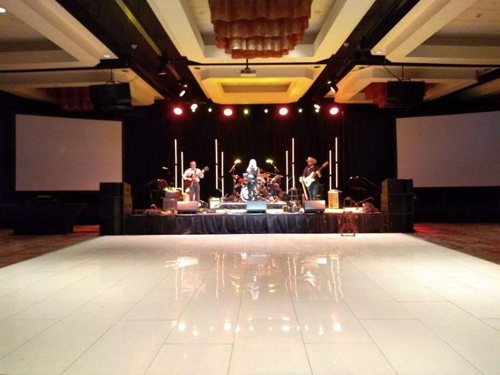 Premium White Dance Floor