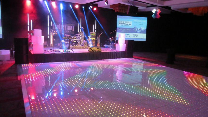 LED Pixel Floor