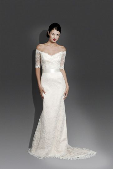 """""""Aria"""" from Modern Trousseau - recently featured on the cover of """"Inside Weddings""""!"""
