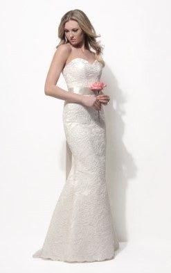 Modern Trousseau bridal gown.