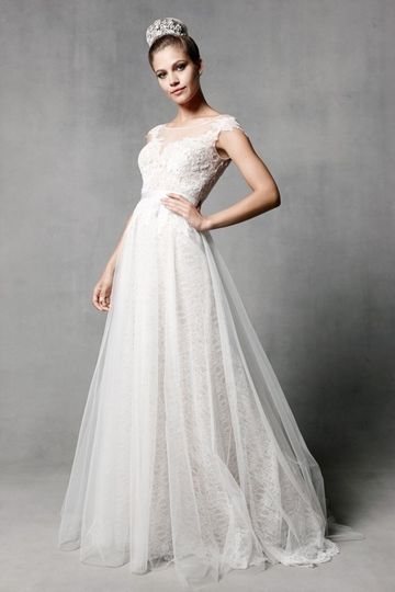 "Watters' ""Farah"" bridal gown."