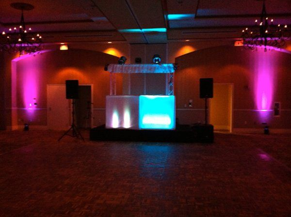 Tmx 1308838727406 BoothwithUplightsoneachside Fort Myers, FL wedding dj
