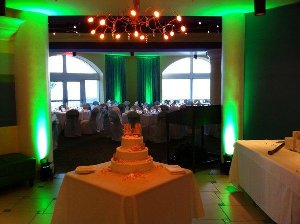 Tmx 1308838749765 PinkShellGreenUplighting Fort Myers, FL wedding dj
