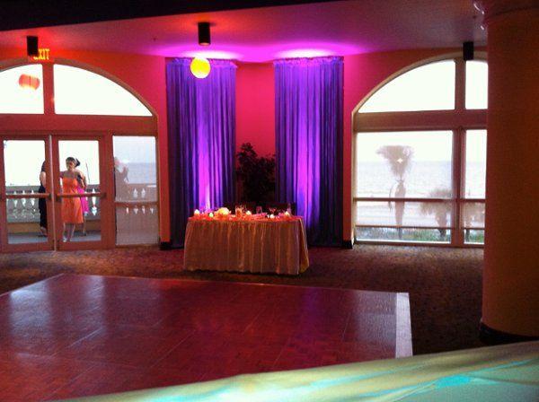Tmx 1308838760375 PurpleUplightsOverBlueCurtains Fort Myers, FL wedding dj