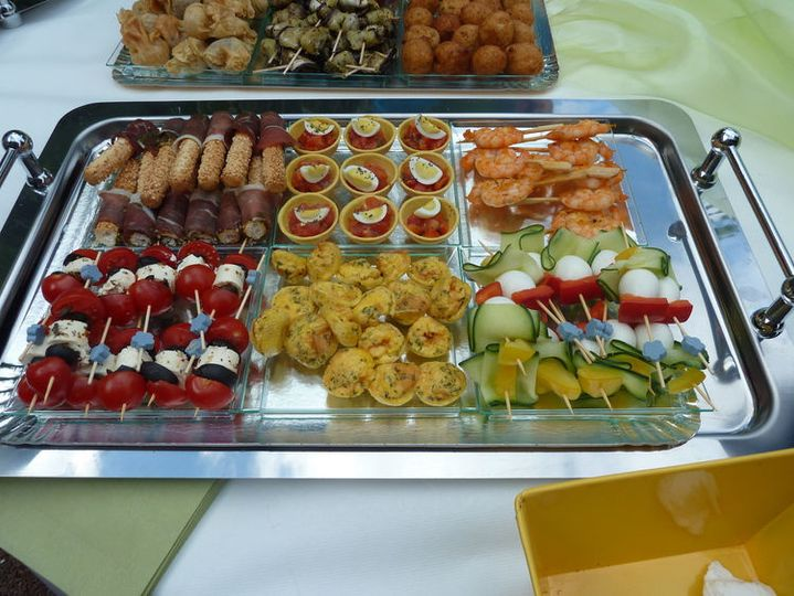 Assorted hors d oeuvres