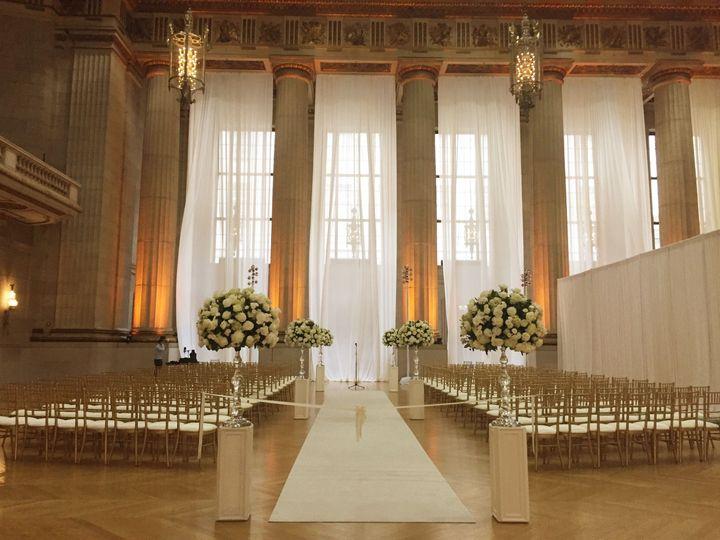 Drape as tall as the eye can see! Make sure your backdrop looks as good as you!