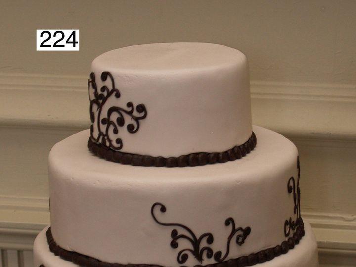 Tmx 1382487534444 224 Bryn Mawr wedding cake