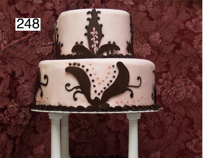 Tmx 1382488526285 248 Bryn Mawr wedding cake