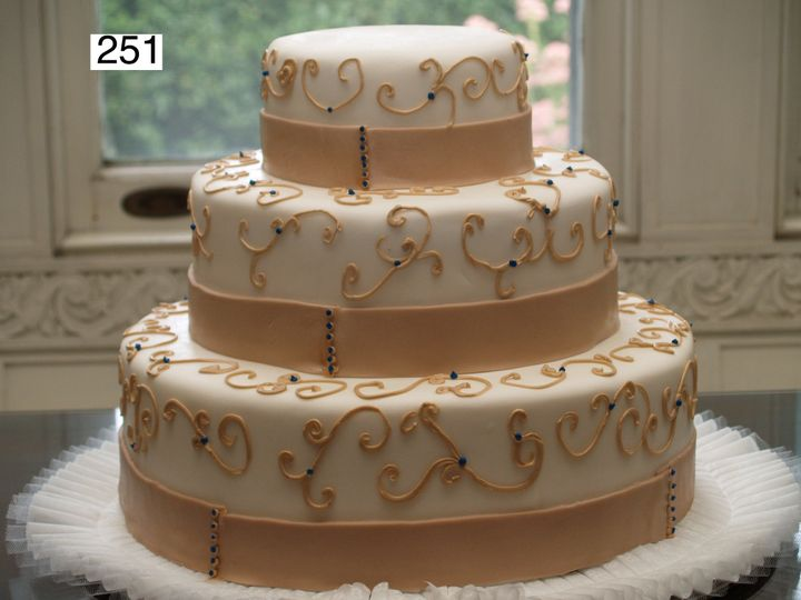 Tmx 1382488593187 251 Bryn Mawr wedding cake