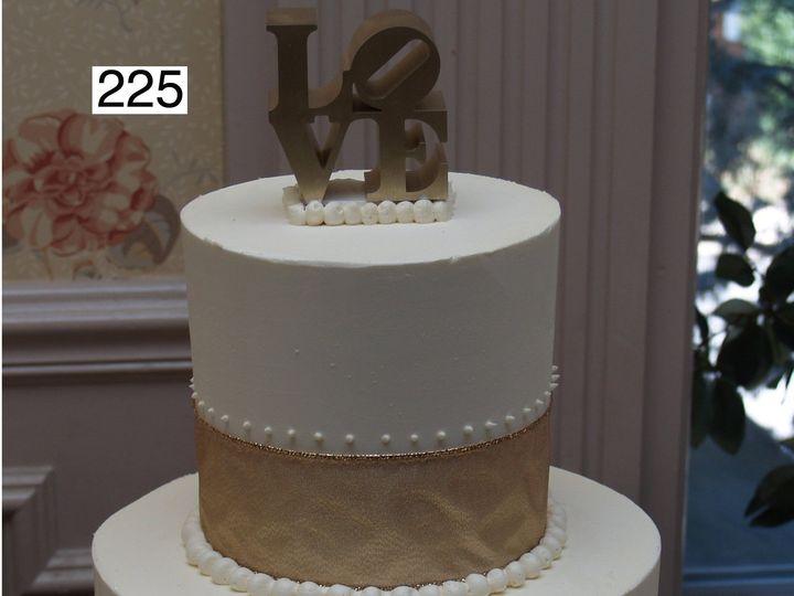 Tmx 1382488645007 255 Bryn Mawr wedding cake