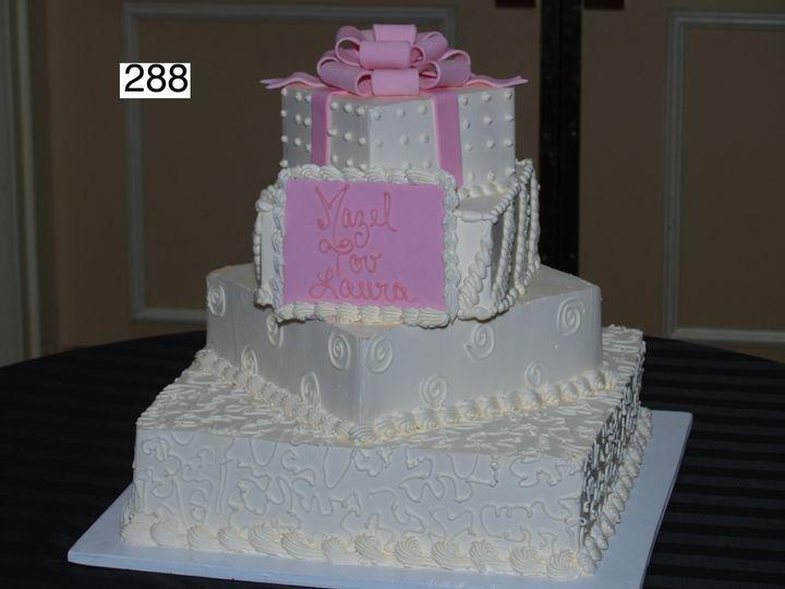 Tmx 1382489242553 288 Bryn Mawr wedding cake