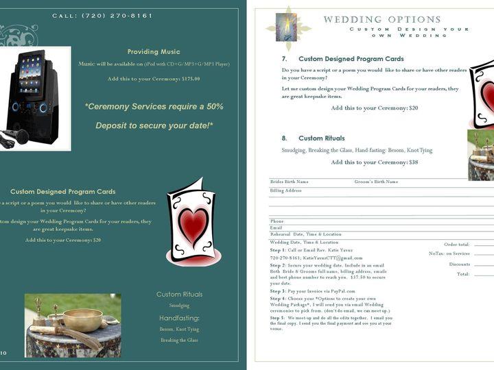 Tmx 1395824999342 Wedding Catalog 2014 P1011 Jpe Castle Rock, CO wedding officiant
