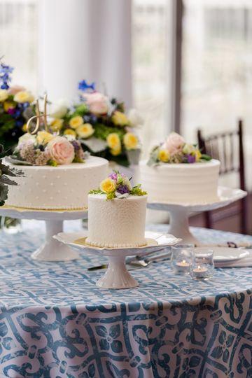 Cake Trio in Buttercream