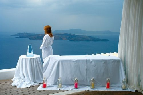 Santorini Zen Spa View