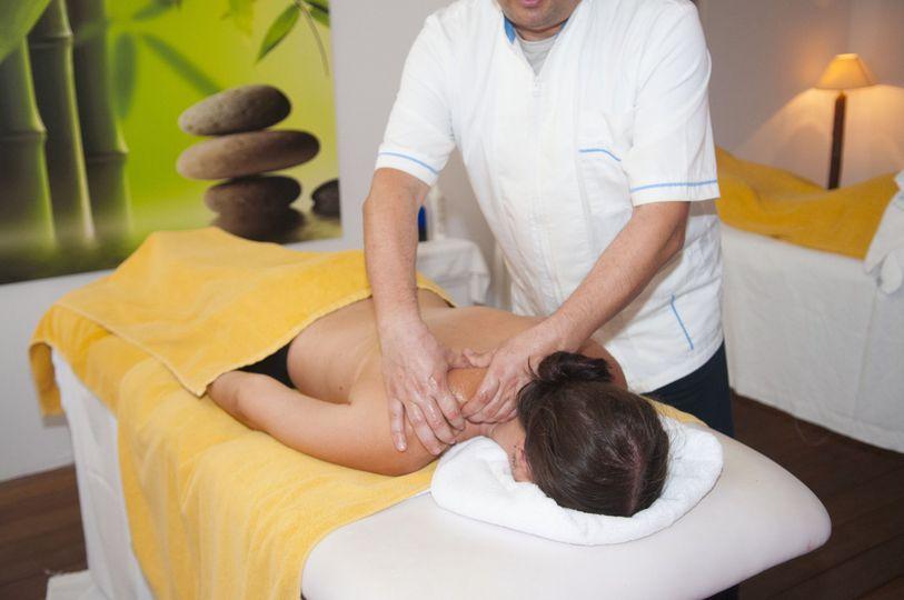 Santorini Zen Spa Deep Tissue massage