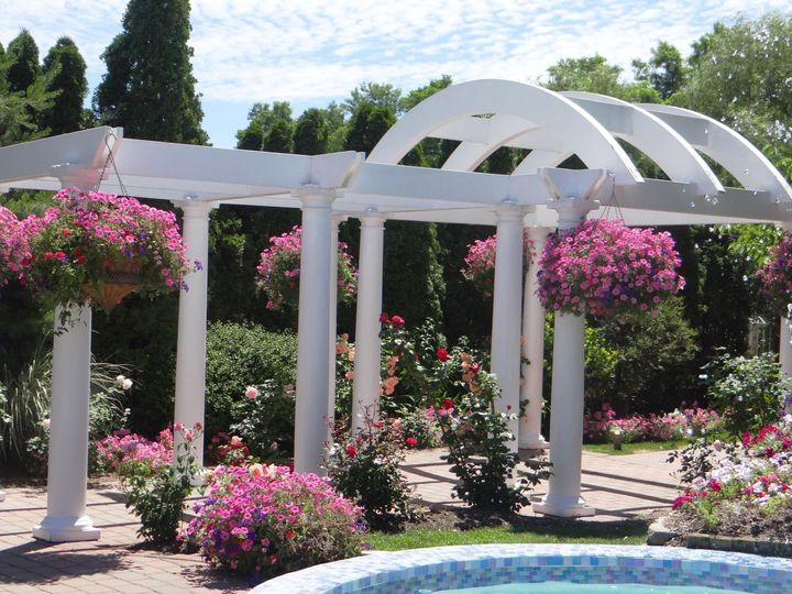 Tmx 1480801316416 Hanging Baskets Roses Rocky Point, New York wedding venue