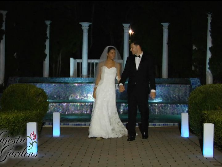 Tmx 1486227339664 Couple In Front Of Fountain Rocky Point, New York wedding venue