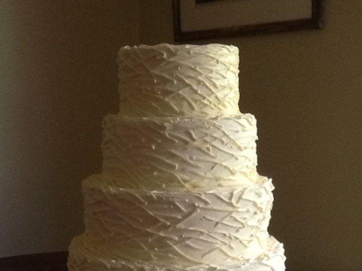 Tmx 1432156521968 Nikitas Cake.jpg1 Accord, New York wedding cake