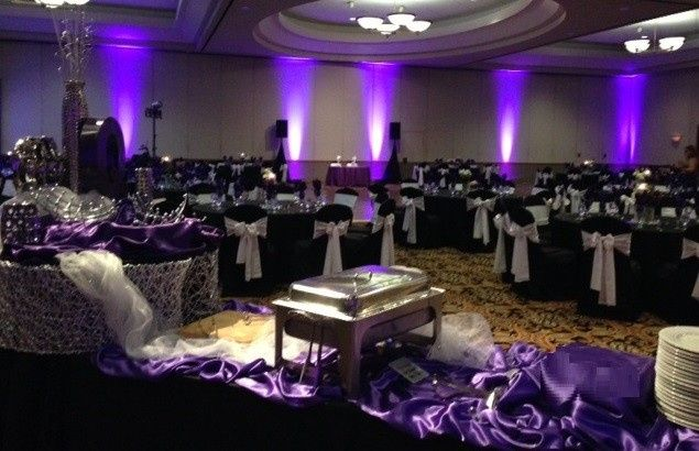 Crowne GES Ballroom with Uplighting
