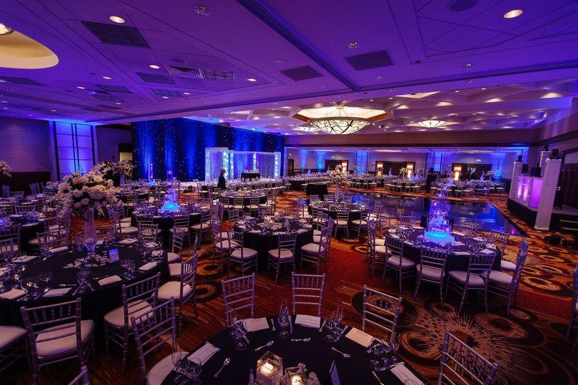 Wedding reception venue